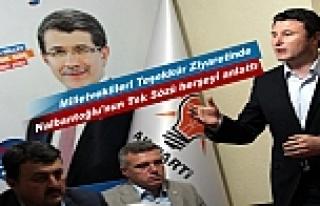 AK PARTİ KASTAMONU MİLLETVEKİLLERİ TOSYA'YA...