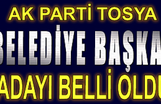 KAZIM ŞAHİN AK PARTİ TOSYA BELEDİYE BAŞKANI ADAYI...