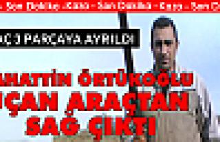 Bahattin Örtükoğlu Kaza Yaptı Uçan Arabadan Sağ...