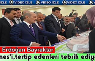 BAKAN ERDOĞAN BAYRAKTAR TOSYA'DA KERMES AÇILIŞINA...