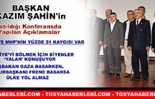Başkan Kazım Şahin'in Katıldığı Konferansda...