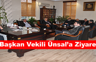 Başkan Vekili Ünsal'a Ziyaret