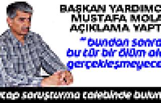 Başkan Yardımcısı Mustafa Mola Açıklama Yaptı
