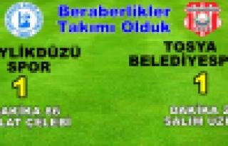 Beraberlikler Takımı Olduk, Tosya BelediyeSpor BeylikdüzüSpor...