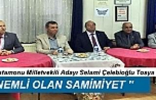 CHP MİLLETVEKİLİ ADAYLARI, TOSYA'YI ZİYARET...