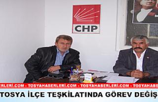 CHP Tosya İlçe Başkanlığı'na Mustafa Söylemez...