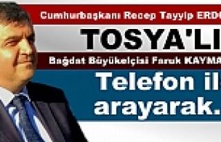 CUMHURBAŞKINI ERDOĞAN BAĞDAT BÜYÜKELÇİSİ TOSYA'LI...