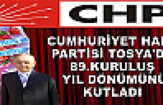 CUMHURİYET HALK PARTİSİ 89.KURULUŞ YIL DÖNÜMÜNÜ...