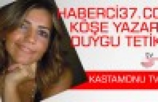 Haberci37 Köşe Yazarı Duygu Tetik KastamonuTV'de