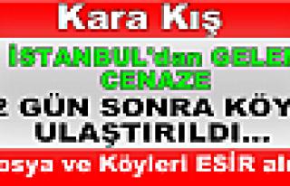 KARA KIŞ TOSYA'YI ESİR ALDI