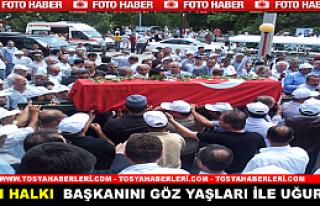 KARGI BELEDİYE BAŞKANI AKPINAR'IN CENAZESİ TOPRAĞA...