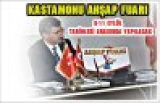 Kastamonu Ahşap Fuarı'na Tosya'nın ilgisi büyük