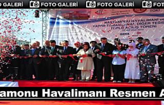 Kastamonu Havalimanı Törenle Hizmete Açıldı