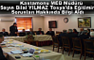 Kastamonu İl Milli Eğitim Müdürü Sayın Bilal...