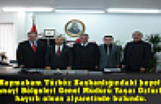 Kaymakam Türköz Başkanlığındaki heyet, Sanayi...