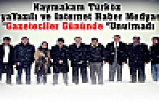 Kaymakam Türköz Tosya Basın Mensuplarını Unutmadı