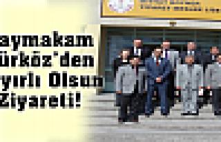Kaymakam Türköz'den Murat Demirci'ye Hayırlı...