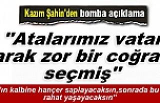 KAZIM ŞAHİN''MERHAMETTEN MARAZ DOĞDU''