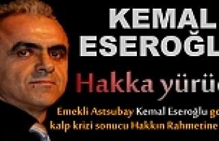 Kemal Eseroğlu Kalp Krizi sonucu Hayatını Kaybetti