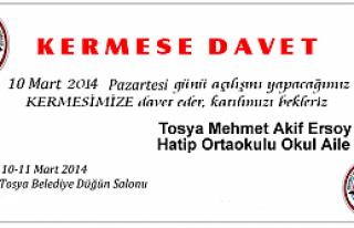 KERMESE DAVET