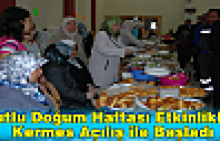 Kutlu Doğum Haftası Etkinlikleri Kermes Açılış...