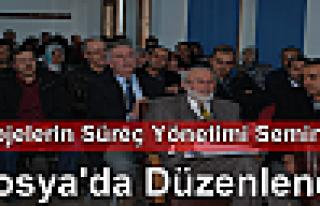 """Kuzka Projeleri Süreç Yönetimi"""" Semineri Tosya'da..."""