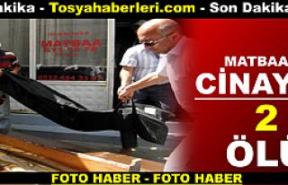 MATBAA'DA CİNAYET