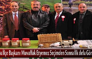 MHP Tosya İlçe Başkanı Ankara Günlerinde Standları...