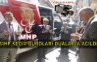 MHP Tosya İlçe Teşkilatı Seçim Bürolarını...