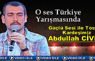O Ses Türkiye Programında Tosya'lı Abdullah Civliz