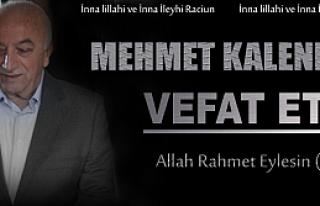 Son Dakika -Mehmet Kalender Kalp Krizi Geçirdi