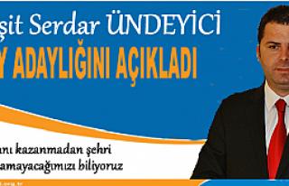 Tosya Ak Parti Belediye Başkanı İlk Aday Adayı...