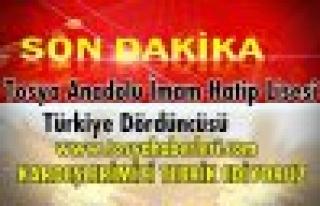 Tosya Anadolu İmam Hatip Lisesi Türkiye Dördüncüsü...