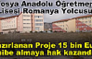Tosya Anadolu Öğretmen Lisesi Romanya Yolcusu