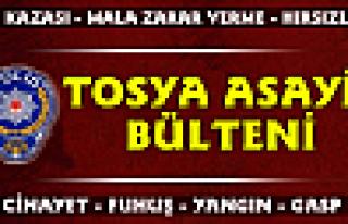 TOSYA ASAYİŞ BÜLTENİ - 1