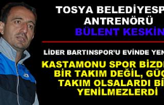 Tosya Belediye spor Antrenörü Bülent Keskin önemli...