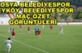 Tosya Belediye Spor - Beyköy BLD. Spor Maçı Görüntüleri...