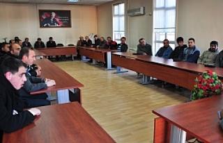 Tosya Belediyesi 2014 yılı öncesi istişare toplantılarına...