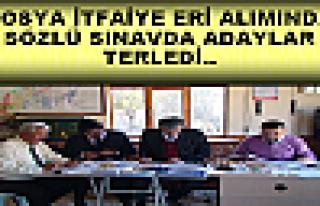 Tosya Belediyesi İtfaiye Eri Alımı Sözlü Sınavı...