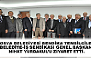TOSYA BELEDİYESİ SENDİKA TEMSİLCİLERİ BELEDİYE-İŞ...