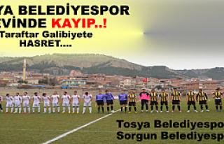 Tosya Belediyespor :0 - 0 :Sorgun Belediyespor