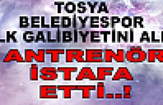 Tosya Belediyespor Bardağı taşıran son damla oldu