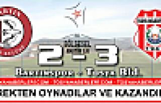 Tosya BelediyeSpor Bartın Deplasmanında Galip Geldi