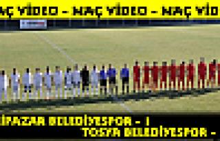 Tosya Belediyespor-Eskipazar Belediyespor maç özet...