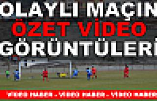 Tosya Belediyespor-İskilip Belediye Spor Olaylı...