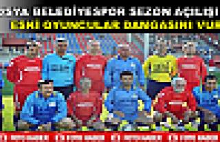 Tosya Belediyespor Sezon Açılışına Emektar Futbolcular...
