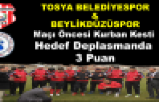 Tosya Belediyespor'da Hedef Deplasmanda 3 Puan