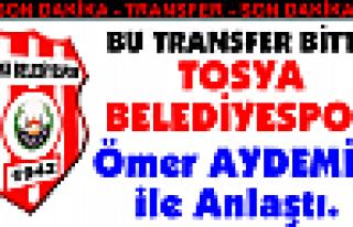 TOSYA BELEDİYESPOR'dan İLK TRANSFER