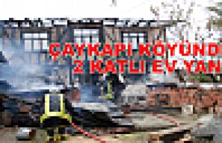 Tosya Çaykapı Köyünde Yangın