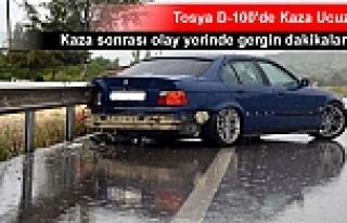 TOSYA D-100'DE KAZA SONRASI GERGİN DAKİKALAR...